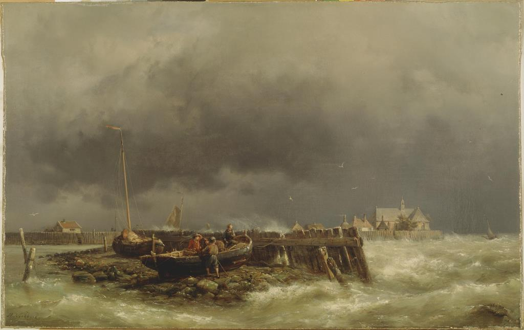 De Zuiderzee van Hermanus Koekkoek