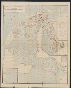 De door Lely en Van der Toorn verrichte grondboringen werden vooral verricht in het noorden en oosten van de Zuiderzee en op de Wadden