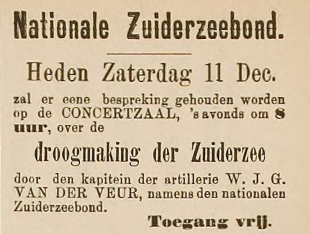 Overveluwsch Weekblad, 11 december 1897