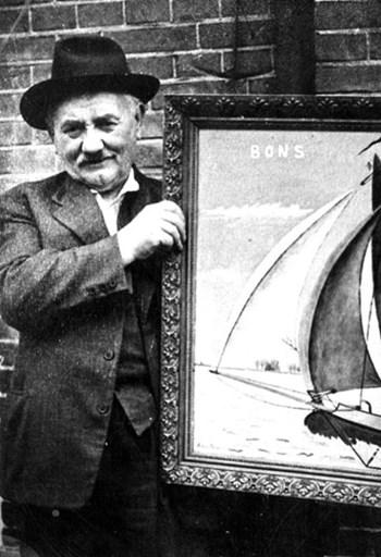 De schilder Eibert den Herder