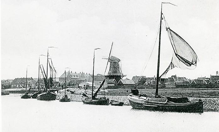 Haven van Harderwijk in 1925